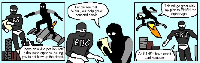 EB♂ vs Captain Evil 3